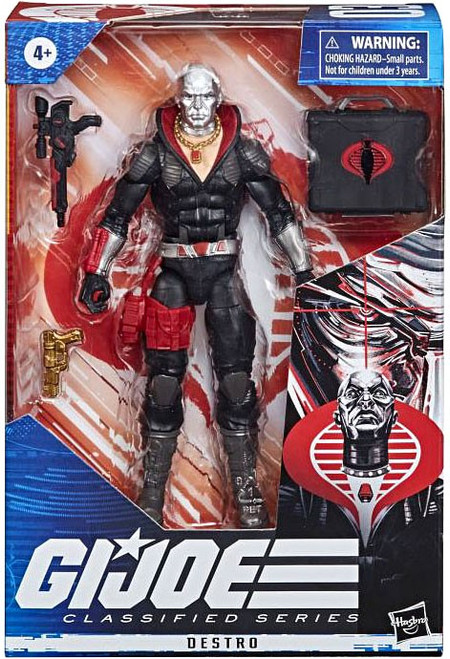 GI Joe Classified Series Wave 1 Destro Action Figure