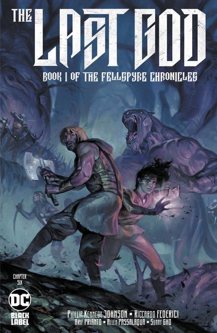 DC Black Label The Last God #6 Comic Book