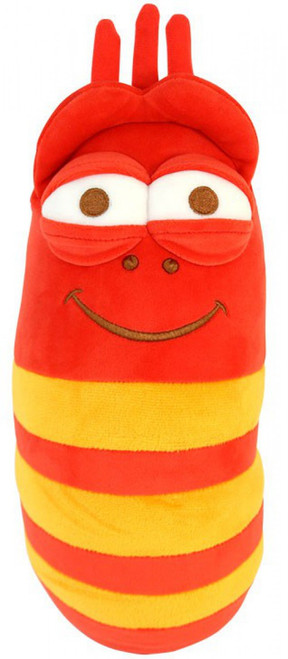 Red Larva 8-Inch Plush with Sound