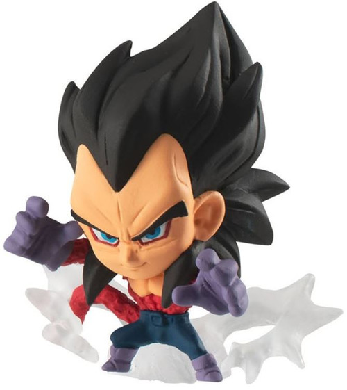 Dragon Ball Super Warriors 2 Super Saiyan 4 Vegeta 1.75-Inch Mini Figure [Loose]