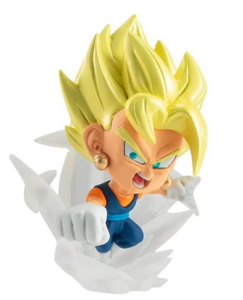 Dragon Ball Super Warriors 2 Super Saiyan Vegito 1.75-Inch Mini Figure [Loose]