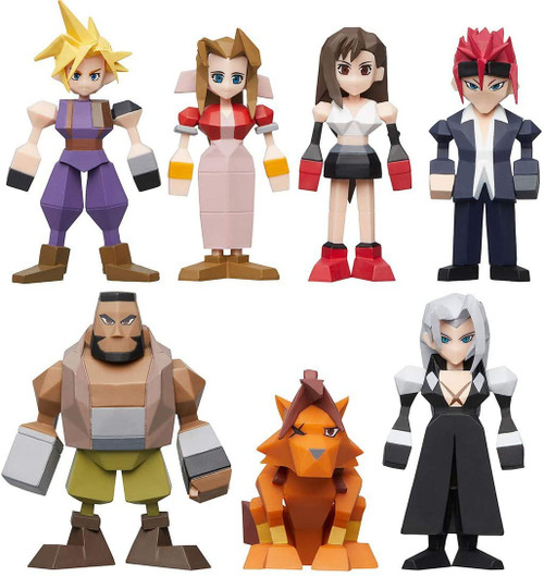 Polygon Figure Final Fantasy Mystery Box [8 Packs]