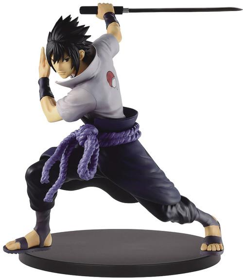 Naruto Shippuden Vibration Stars Sasuke Uchiha 6-Inch Collectible PVC Figure [Version 2]