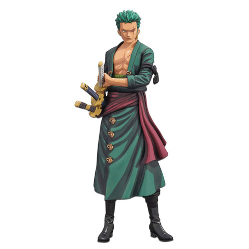 One Piece Manga Dimensions Roronoa Zoro 10.9-Inch Collectible PVC Grandista Figure (Pre-Order ships October)