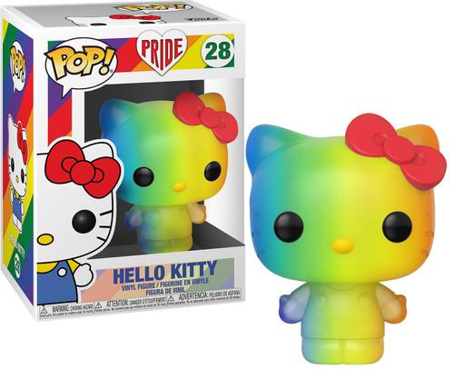 Funko Pride 2020 POP! Sanrio Hello Kitty Vinyl Figure #28 [Rainbow Pride 2020]
