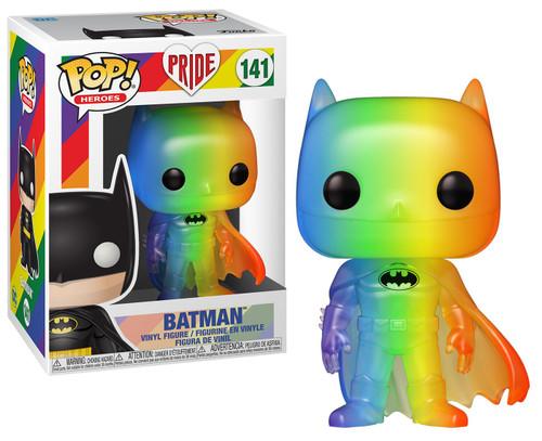 Funko DC Pride 2020 POP! Heroes Batman Vinyl Figure [Rainbow Pride 2020]