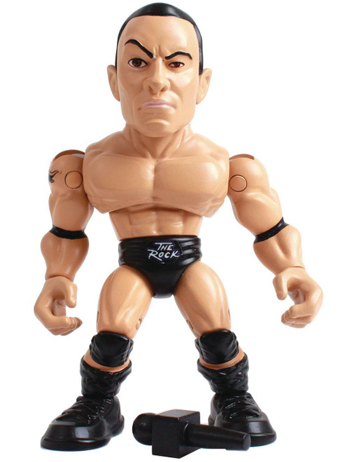 "WWE Wrestling Action Vinyls Dwyane ""The Rock"" Johnson 3.25-Inch Vinyl Figure (Pre-Order ships October)"