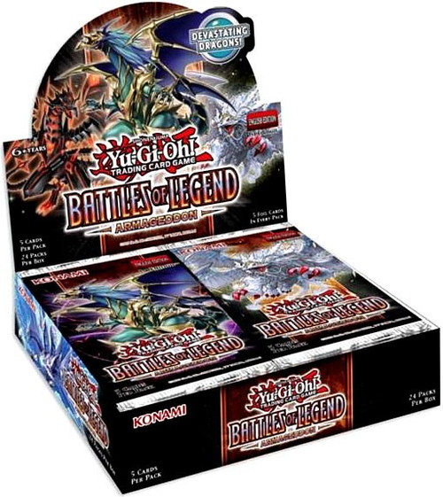 YuGiOh Trading Card Game Battles of Legend Armageddon Booster Box [24 Packs]