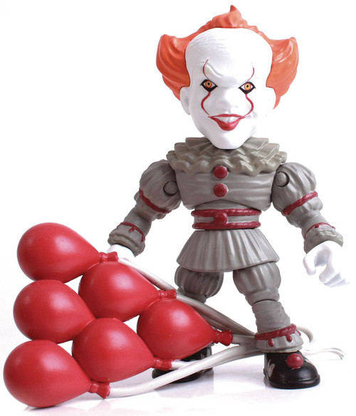 IT (2017) Horror Action Vinyls Pennywise 3.25-Inch Vinyl Figure (Pre-Order ships November)