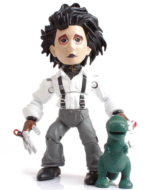 Horror Action Vinyls Edward Scissorhands 3.25-Inch Vinyl Figure [Suburban Clothes] (Pre-Order ships November)