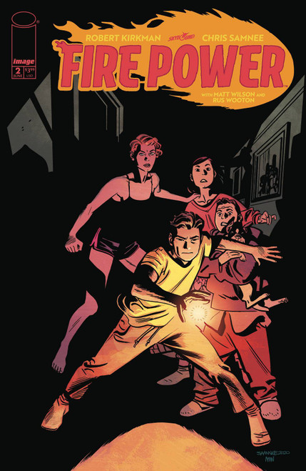 Image Comics Fire Power #2 Comic Book [By Robert Kirkman & Chris Samnee]