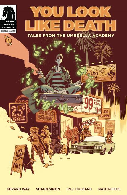 Dark Horse Umbrella Academy #1 of 6 You Look Like Death Comic Book