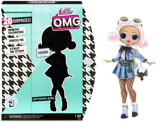LOL Surprise OMG Series 3.8 Uptown Girl Fashion Doll