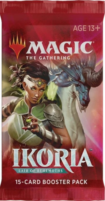 MtG Trading Card Game Ikoria: Lair of Behemoths Draft Booster Pack [15 Cards, NO SPACEGODZILLA!]