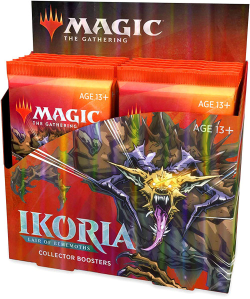 MtG Trading Card Game Ikoria: Lair of Behemoths COLLECTOR Booster Box [12 Packs]