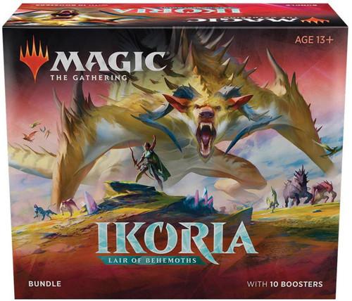 MtG Trading Card Game Ikoria: Lair of Behemoths Bundle [Includes 10 Booster Packs!]