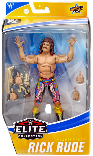 WWE Wrestling Elite Collection Series 77 Ravishing Rick Rude Action Figure [Regular Version, Colors May Vary]
