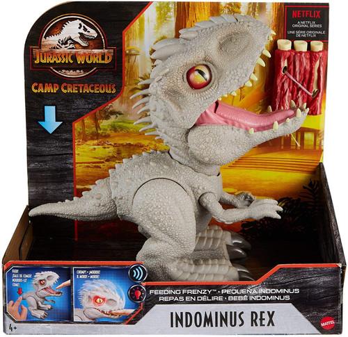 Jurassic World Camp Cretaceous Feeding Frenzy Indominus Rex Action Figure