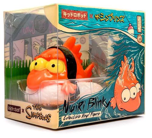 The Simpsons Nigiri Blinky the Fish 3-Inch Collectible Vinyl Figure [Orange]