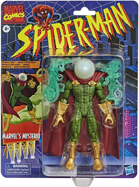 Spider-Man Marvel Legends Vintage (Retro) Series Marvel's Mysterio Action Figure