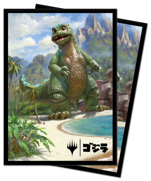 Ultra Pro MtG Ikoria Alternate Art Baby Godzilla Ruin Reborn Standard Card Sleeves [100 Count]