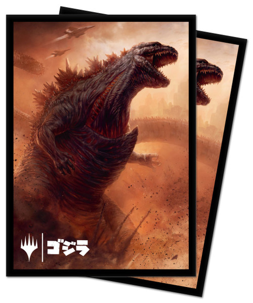 Ultra Pro MtG Ikoria Alternate Art Godzilla Doom Inevitable Standard Card Sleeves [100 Count]