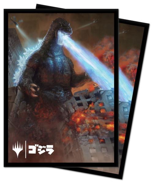 Ultra Pro MtG Ikoria Alternate Art Godzilla King of Monsters Standard Card Sleeves [100 Count]