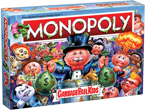 Monopoly Garbage Pail Kids Board Game