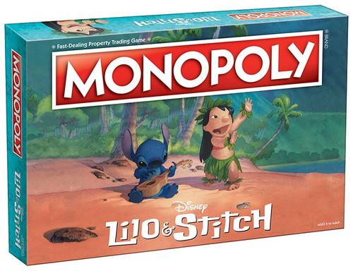 Disney Monopoly Lilo & Stitch