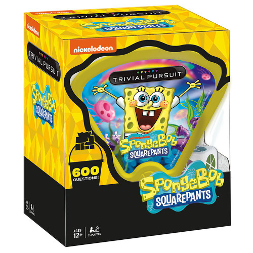 Spongebob Squarepants Trivial Pursuit SpongeBob Square Pants