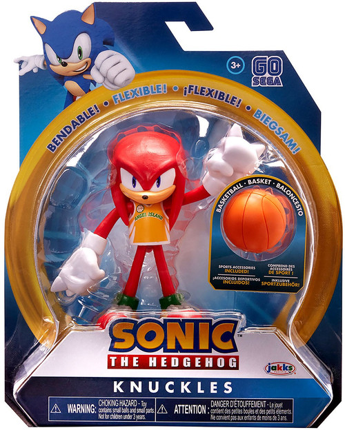 Sonic The Hedgehog 2020 Series 3 Knuckles Action Figure [Basketball]