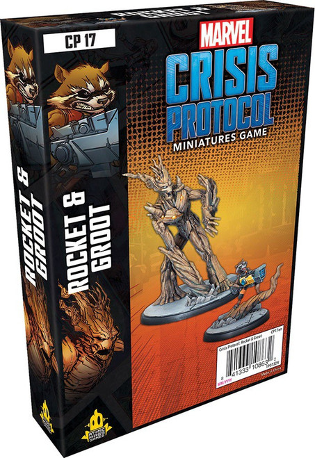 Marvel Crisis Protocol Rocket & Groot Character Pack