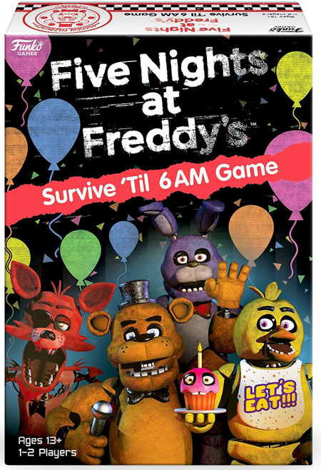 Funko Five Nights at Freddy's Survive the Night Game (Pre-Order ships February)
