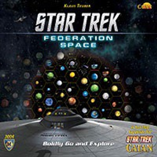 Catan Star Trek Federation Space Expansion