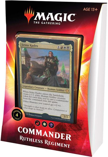 MtG Trading Card Game 2020 Commander Ruthless Regiment Deck