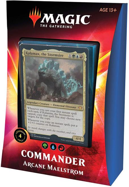 MtG Trading Card Game 2020 Commander Arcane Maelstrom Deck