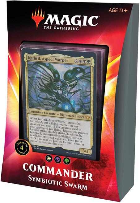 MtG Trading Card Game 2020 Commander Symbiotic Swarm Deck