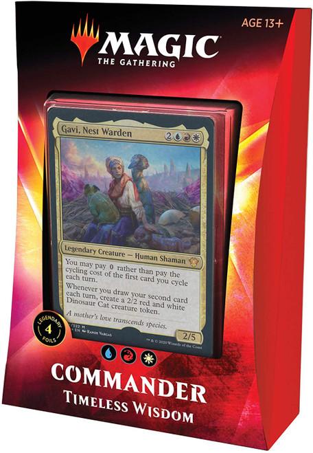 MtG Trading Card Game 2020 Commander Timeless Wisdom Deck
