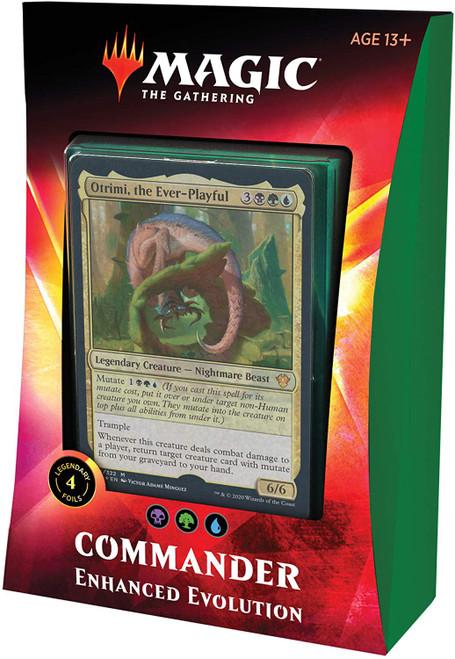 MtG Trading Card Game 2020 Commander Enhanced Evolution Deck