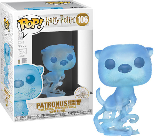 Funko Harry Potter POP! Movies Hermione Granger's Patronus Vinyl Figure #106 [Otter]