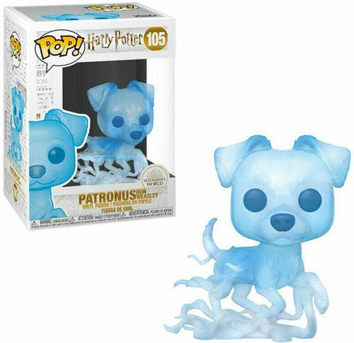 Funko POP! Harry Potter Patronus (Ron Weasley) Vinyl Figure #105 [Jack Russell Terrier]