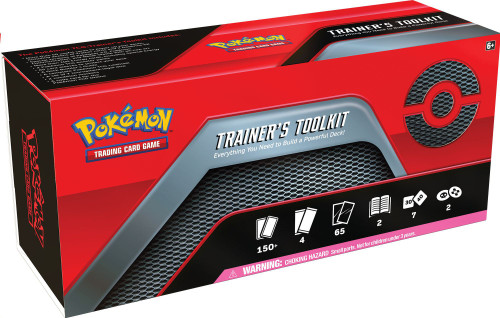 Pokemon Trading Card Game Trainer's Toolkit Box Set [4 Booster Packs, 65 Card Sleeves, 100 Energy Cards & More]