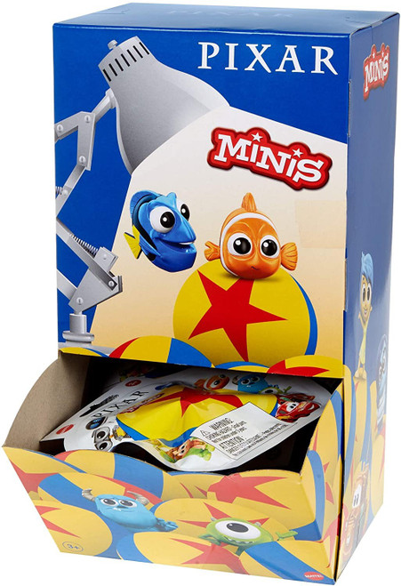 Disney / Pixar Minis Series 1 World of Pixar Mystery Box [36 Packs]