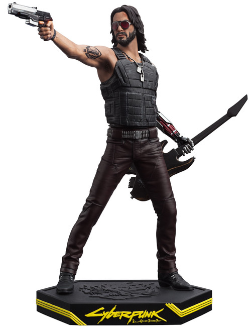 Cyberpunk 2077 Johnny Silverhand 9.5-Inch PVC Statue