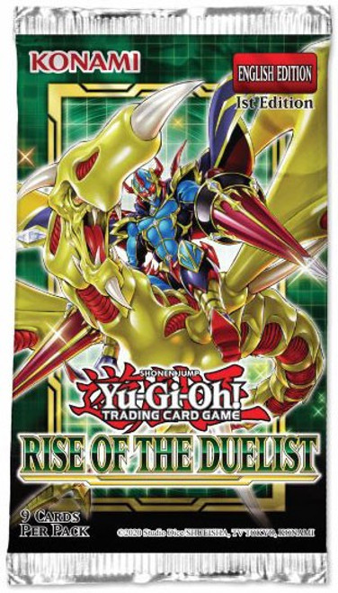 YuGiOh Trading Card Game Rise of the Duelist Booster Pack [9 Cards]