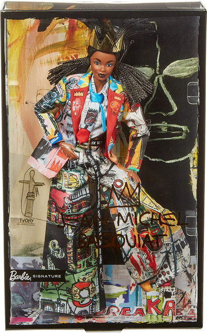 Signature Fashion Model Collection Jean-Michel Basquiat Barbie Doll