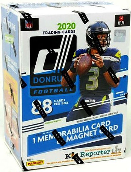 NFL Panini 2020 Donruss Football Trading Card BLASTER Box [11 Packs]