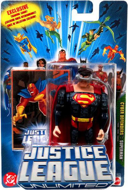 Justice League Unlimited Superman Action Figure [Cyber Defenders]