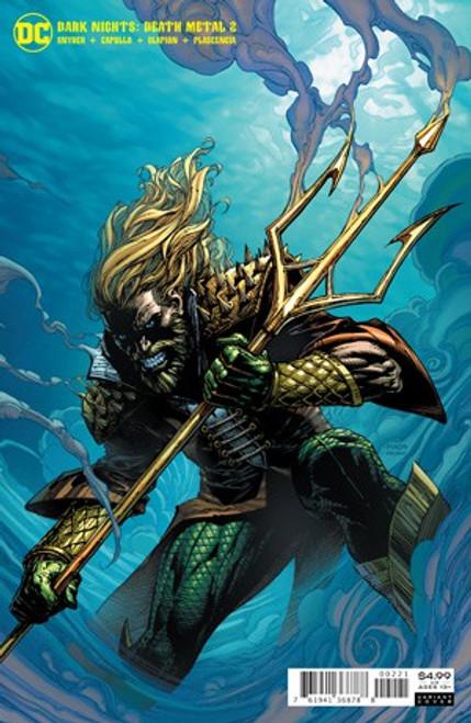 DC Dark Nights #2 of 6 Death Metal Comic Book [David Finch Aquaman Variant Cover]