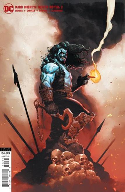 DC Dark Nights #2 of 6 Death Metal Comic Book [Jerome Opena Lobo Variant Cover]